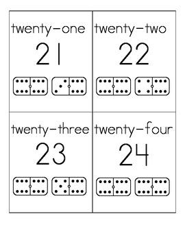 Number Flash Cards 1-31
