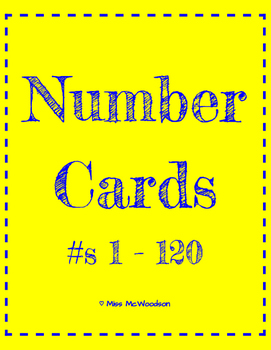 Number Flash Cards