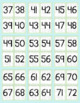 Number Flash Cards - Polka Dot Theme