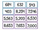 Number Flashcards 0-999,999 GROUPED for DIFFERENTIATION!!