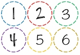 Number Flashcards 1 - 120, display boards, clip art, maths numbers, posters