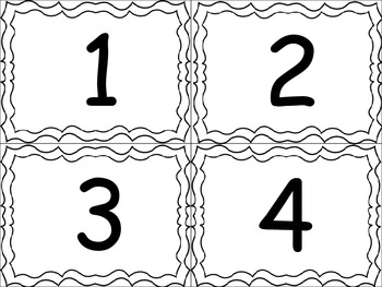 Number Flashcards (1-20)