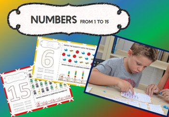 Numbers in English 1 to 15