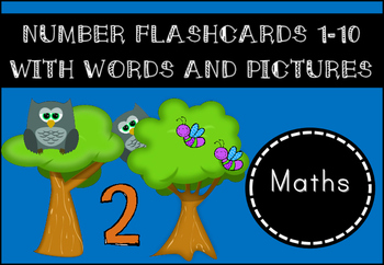 Number Flashcards 1-10