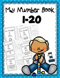 Number Flip Book 1-20 - cut and paste