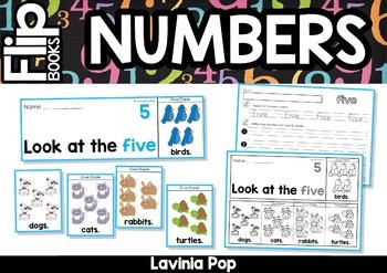 Number Flip Books {1-10}