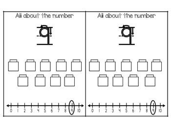 Number Flip Books (1-20)