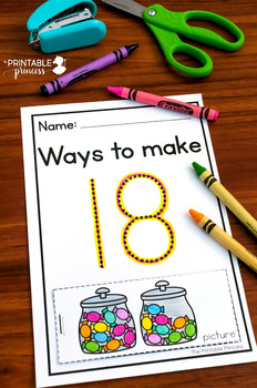 Number Recognition Flip Books {Numbers 1-20}