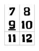 Number Flip Cards