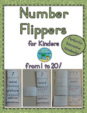 Number Flippers for Kinders from 1 to 20