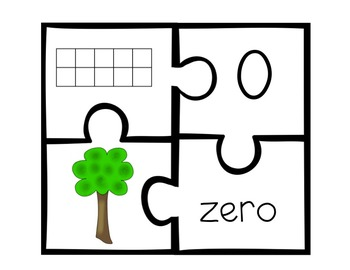 Number Floor Puzzle [Numeral ID & Counting and Cardinality Practice]