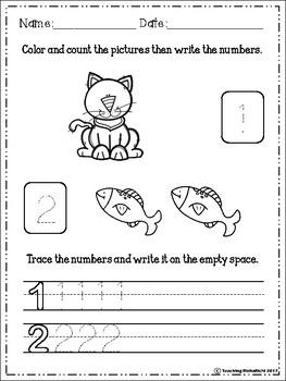 Number Fluency (1-20)