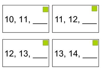 Number Fluency 9-20