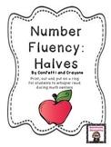 Number Fluency Halves