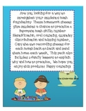 Number Fluency Homework Pack