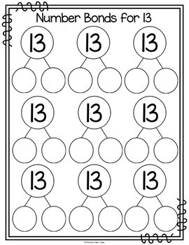Number Sense Activities & Worksheets