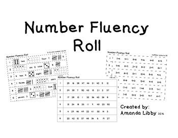 Number Fluency Roll