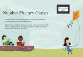 Number Fluency Tasks and Games