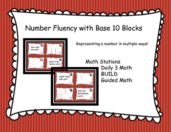 Number Fluency with Base 10 Blocks