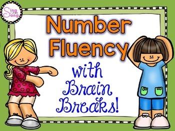 Number Fluency with Brain Breaks