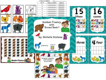Number Fluency with Brown Bear