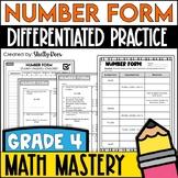 Expanded Form, Standard Form, Number Word Form