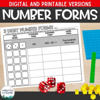 Number Form Dice Magic