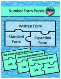Number Form Puzzle