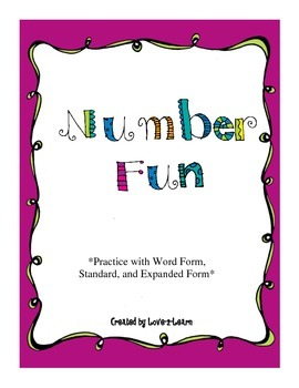 Number Form and Number Words