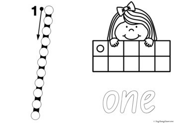 Number Formation 0-20 Fine Motor Printables - NSW Foundation Font