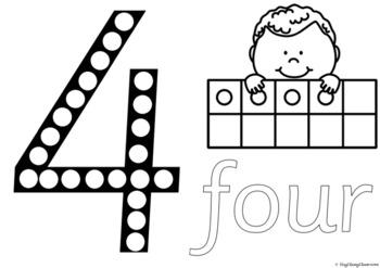 Number Formation 0-20 Fine Motor Printables - Sassoon Font
