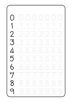 photo regarding Free Printable Tracing Numbers referred to as Cost-free Printable Tracing Quantities
