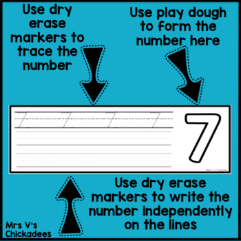 Number Formation Boards: Center Activity