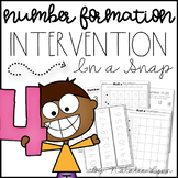 Number Formation Intervention and RtI