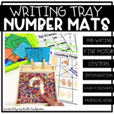Number Formation Mats for Salt and Sand Writing Tray | Fine Motor