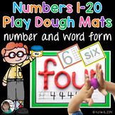 Playdough Mats Numbers 1 to 20