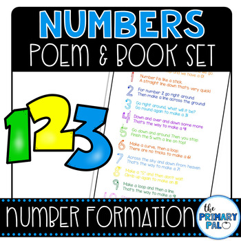 Number Formation Poem and Book