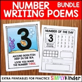 Number Poems BUNDLE