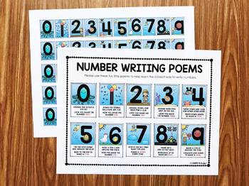 Number Poems - Posters, Printables and Snap Block Center