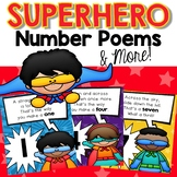 Number Formation Poems {Superhero theme}