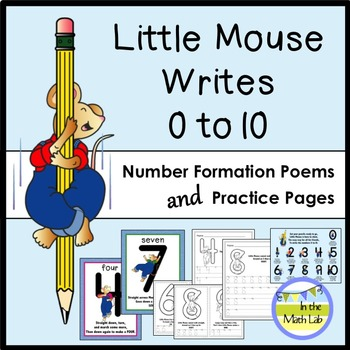 Number Formation Posters, Printables, Mini-Books, and More