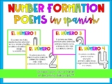 Number Formation Poems in Spanish