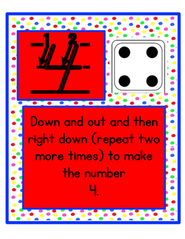 Number Formation Posters: 0-9 With Number, Amount, And Poem