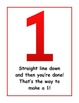 Number Formation Posters