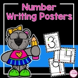 Number Writing Cards