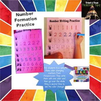 Number Formation Practice