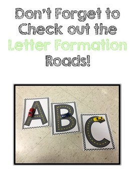 Number Formation Roads