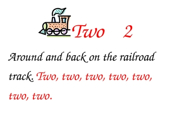 Number Formation Songs