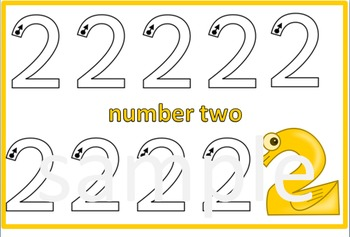 Number Formation Traceable 1-10