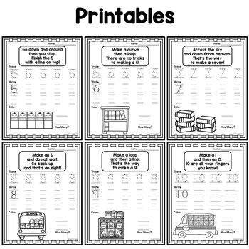 Number Formation with Fun Poems
